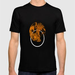 Collusion - Abstract in black, gold and white T-shirt