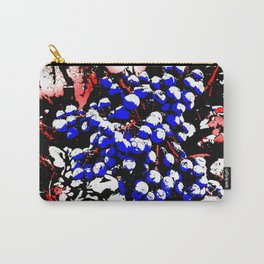 Blue Berries Retro Carry-All Pouch
