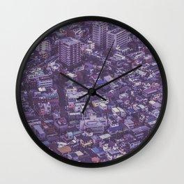 Tokyo sky view Japan Wall Clock