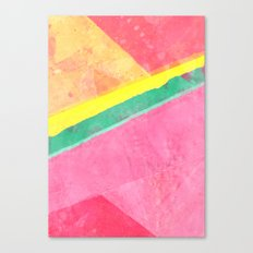 Twisted Melon Canvas Print