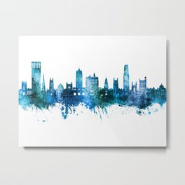 New Haven Connecticut Skyline Metal Print