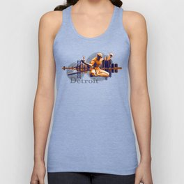 Detroit City Unisex Tank Top