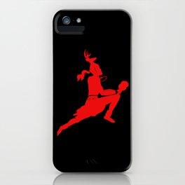 Logotipo de la danza del Venado iPhone Case