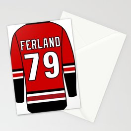 Micheal Ferland Jersey Stationery Cards