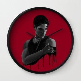 Bad Blood I Wall Clock