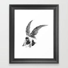 Span Framed Art Print