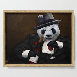 PANDA with Tuxedo Serving Tray