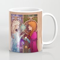 mucha Mugs featuring Let Me In by Megan Lara