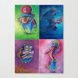 Mario Super Mario Bros 2 Collection Nintendo Canvas Print