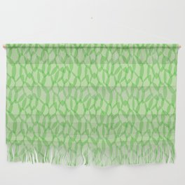 Overlapping Leaves - Light Green Wall Hanging