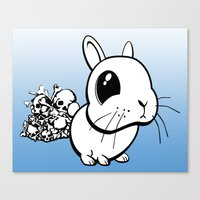 bunny Canvas Prints featuring Bunny by Bill Giersch