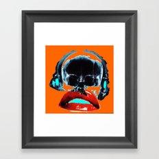 SKULLANDLIPS Framed Art Print