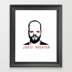 JORTS WHEATON Framed Art Print