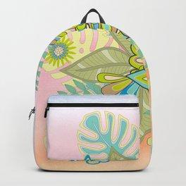 Free tropical bird Backpack
