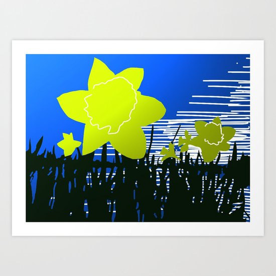 Daffodils by frenchholt