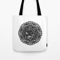 perfume Tote Bags featuring Perfume by Sircasm