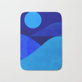 Abstraction_Moonlight Bath Mat