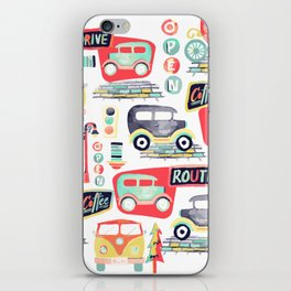 Travel Back in Time iPhone Skin