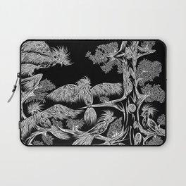 Japanese Birds Inverted Laptop Sleeve