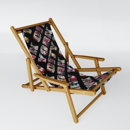 New York City (typography diagonal) Sling Chair