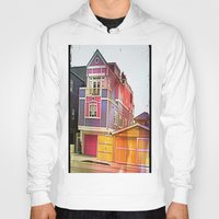 barbie Hoodies featuring Barbie House by Kim Ramage