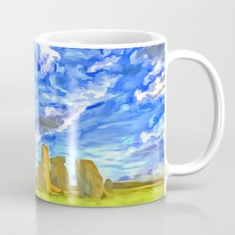 Stonehenge Pop Art Coffee Mug