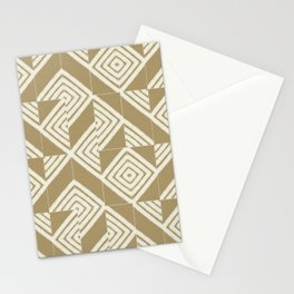 Rustic Nettle Mixed Tiles Stationery Cards
