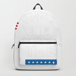 Keep The Kids_ Deport The Racist! Defend DACA Backpack