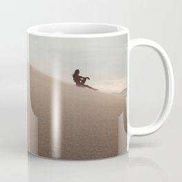Sunset at Eureka Sand Dunes Coffee Mug