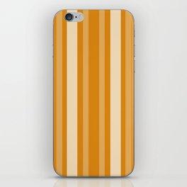 Marigold Victorian Lady Stripe iPhone Skin
