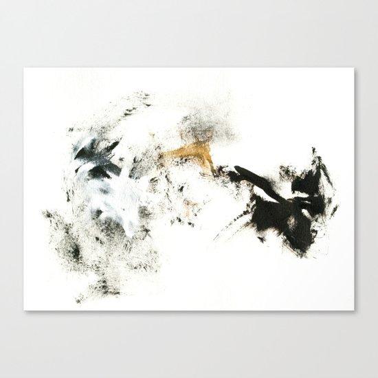 Winter's Meditation Canvas Print