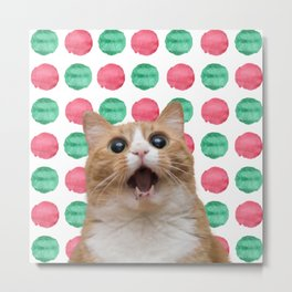 Hilarious Kitty Metal Print
