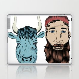 Paul and Babe Laptop & iPad Skin