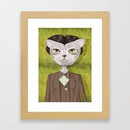 Mr. Jones Framed Art Print