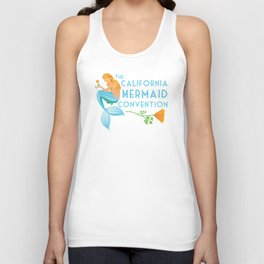 Poster Art ·•· California Mermaid Convention Unisex Tank Top
