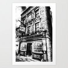 Prospect of  Whitby Pub London 1520 Art Print
