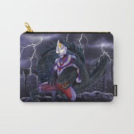 TIGA vs GODZILLA iPhone 4 4s 5 5c 6 7, pillow case, mugs and tshirt Carry-All Pouch