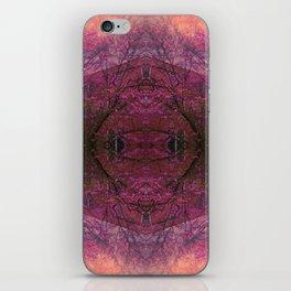 Rose Glass iPhone Skin