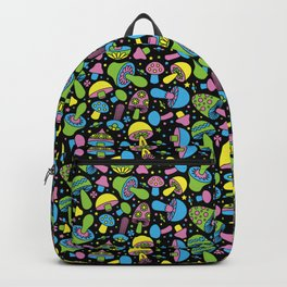 Shroomin Blacklight Backpack