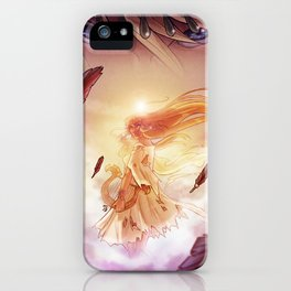 Eyes of the Goddess iPhone Case