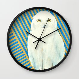 Chester the Owl Wall Clock
