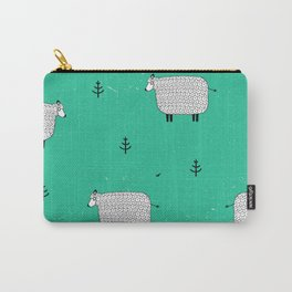 Sheeps on the green Carry-All Pouch