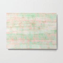 watermelon pixels Metal Print