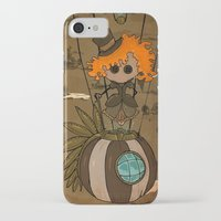 steampunk iPhone & iPod Cases featuring Steampunk by Erica_art