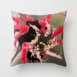 fleur les mot Throw Pillow