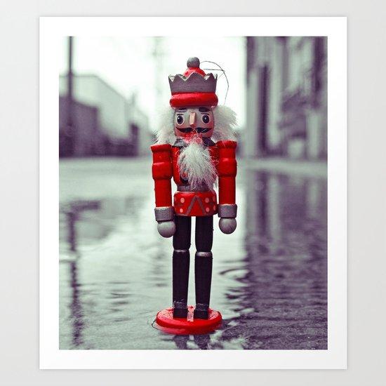 Urban nutcracker Art Print