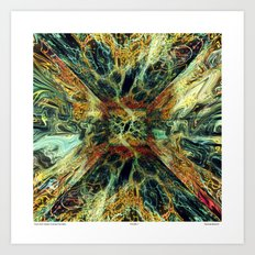 From the Vortex Comes the Idea Art Print