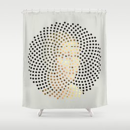 Optical Illusions - Famous Work of Art 5 Shower Curtain