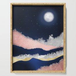 Moonlight Sonata Serving Tray