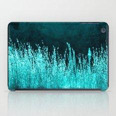 Grasses Aqua iPad Case